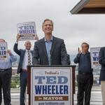 Dueling mayoral endorsements: Union backs Bailey, Business Alliance endorses <strong>Wheeler</strong>