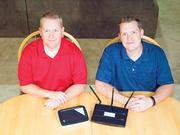 Eric Vance (left) is co-founder of Clean Router and Spencer Thomason (right) is CEO and co-founder of Clean Router.