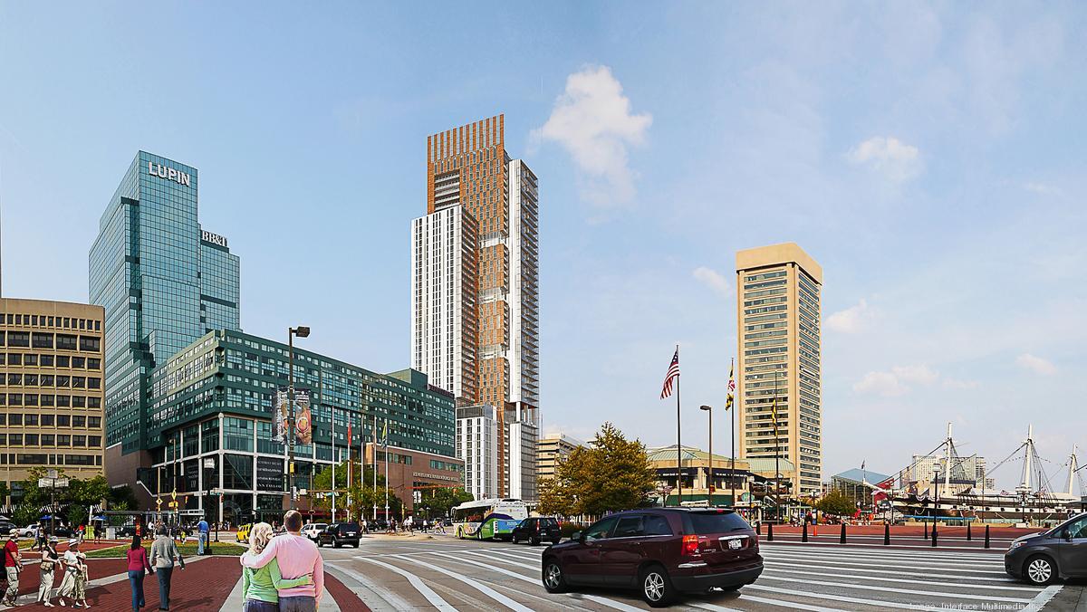 48-story 300 E. Pratt St. tower will 'dominate' Baltimore's skyline - Baltimore Business Journal