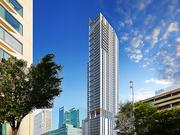 The 48-story tower proposed for 300 E. Pratt St. will replace what is now a parking lot with a hotel, retail and 400 apartments.