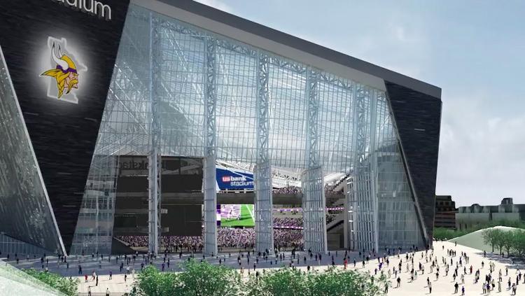 Medtronic Buys U S Bank Stadium Plaza Naming Rights