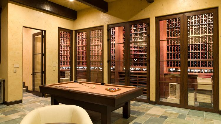 A Wine Cellar Designed And Constructed By Nos Caves Vin, A Houston Based  Company