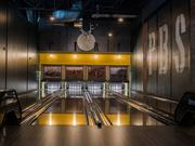 Punch Bowl Social in Ballston will have eight bowling lanes. They'll look similar to the ones in Punch Bowl Social Austin, shown here.