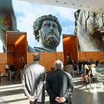 Comcast unveils Eternally Rome show on lobby video wall