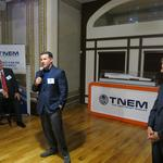Maglev supporters, including Kevin Plank, turn out for HQ event
