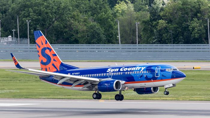 Sun Country Airlines cuts 350 jobs as it farms out ground work