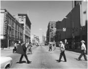 16th Street at Tremont Place in 1979.