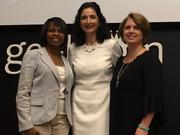 Left to Right: San Antonio Mayor Ivy Taylor, WP Engine CEO Heather Brunner and WP Engine CFO April Downing