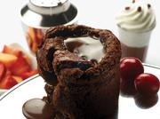 Melting Heart Cake is among Max Brenner's signature treats.