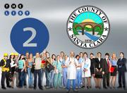 No. 2: County of Santa Clara  Address: 70 W. Hedding St., San Jose 95110  FTE employees in Silicon Valley:  15,465