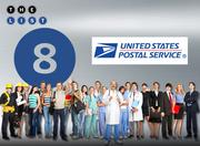 No. 8: U.S. Postal Service  Address: 1750 Lundy Ave., San Jose 95101  FTE employees in Silicon Valley:  9,000