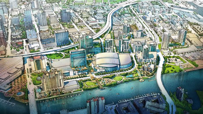 Vinik-Cascade real estate team buys more property in downtown Tampa