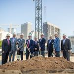 Another downtown apartment project breaks ground