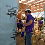 Local employees volunteer for FedEx Cares Week