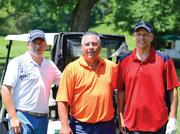 Adam Morman, project manager, Knott Realty Group; Troy Slevin, project manager, Century Engineering; Michael Pieranunzi, vice president, Century Engineering.