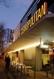 Cosmopolitan  Address: 10th and K Project: David S. Taylor redeveloped a former Woolworth's building for a mix of uses, including the Cosmopolitan Cafe (since transformed into a Cafe Bernardo), theater and nightclub.  Redevelopment funds: $6.75 million Total cost: $15.6 million  Opened: 2008