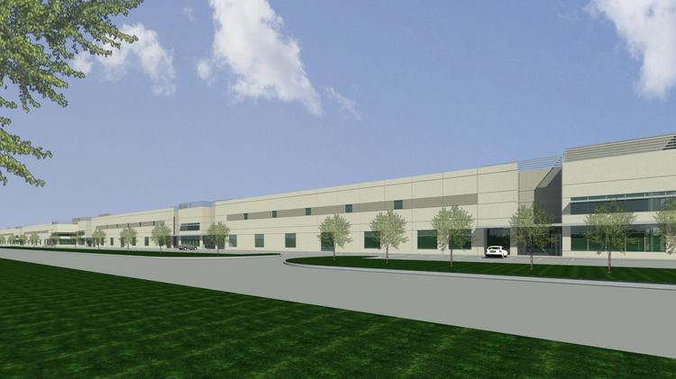 Los Angeles Based Emser Tile Leased 600 000 Square Feet At Pinto Business Park In North