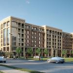 Hines' luxury apartment complex near Galleria up for sale