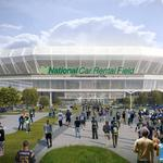 Peacock: More corporate support needed for stadium