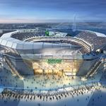 Proposed NFL stadium gets a name and sponsor