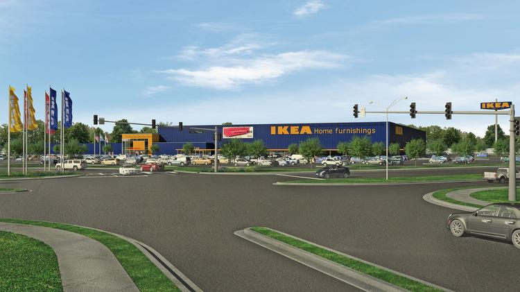 What IKEA's proposed Gate Parkway location will look like.