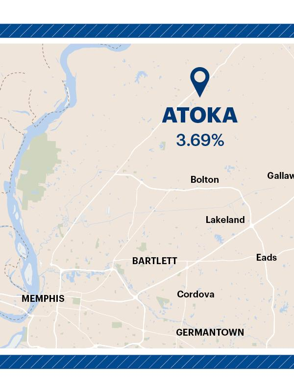 Tennessees Most Affordable Places To Live Include Atoka Oakland