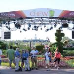 ABC's 'The Chew' on location at Epcot Food Fest