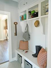 Rock Springs House 3: Storage and organizing unit