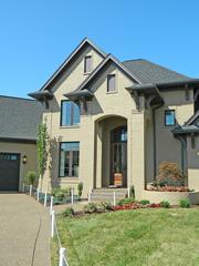 Rock Springs House 5: Scott Yates of Paragon Homes Inc. built this home. Darrel Hartman of The Country Squire did the interior design.