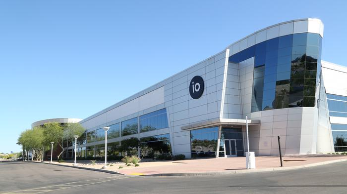 The IO Phoenix data center is one of the largest multi-tenant data centers on the west coast.