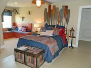 Rock Springs House 6: Bedroom with nautical theme