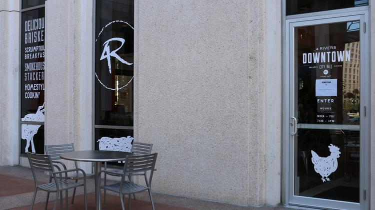 Welcome To Downtownu0027s Newest Restaurant, 4 Rivers Downtown Cafe.
