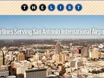Behind the List: Airlines serving San Antonio International Airport