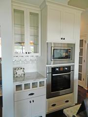 Rock Springs House 10: Kitchen oven and cabinetry