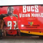 Bucs use Lazydays sponsorship to refuel Vision Mobile initiative