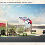 $39M upgrades at Toyota Stadium include National Soccer Hall of Fame Museum