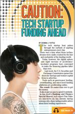 Caution: Tech Startup Funding Ahead