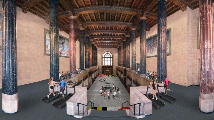 Here S What The Under Armour Gym At 10 Light St Will Look