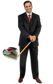 """Saad Ehtisham - Senior vice president and chief nusing officer, Via Christi Health Network """"For my prop, I chose a golf club. Golf allows me to escape to a world in which I am competing with myself. I experience self improvement, personal growth, learn patience and self-control all in a round ... most days."""""""