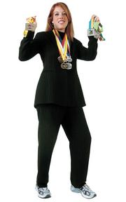 """Jennifer Hill -Associate attorney, McDonald, Tinker, Skaer, Quinn & Herrington PA """"Running represents a huge part of who I am today. I am mentally, physically and spiritually a stronger person because of the challenges I have faced at mile 20 of a marathon or when staring up at a steep hill I know I have to climb. Running is not something that comes easily to me and that is why I cherish my accomplishments all the more. It's outside my comfort zone, it tests my will. And since it's something I do nearly every day, it tells you a lot about who I am."""""""