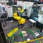 Aerospace companies incorporating robotics into manufacturing processes