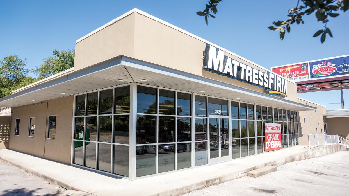 mattress firm closures in austin tick up to 12 austin business journal. Black Bedroom Furniture Sets. Home Design Ideas