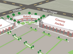 Binghampton retail development breaks ground