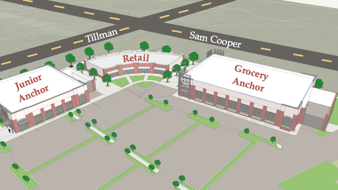 Binghampton retail development breaks ground
