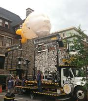 The GO Roadshow — a 34-foot long truck retrofitted with truck-horn calliope, a wall made of rotors and a spinning grand piano — is home to the Squonk Opera.