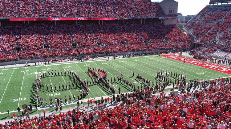 Attendance At Ohio State Football Games Second In Country