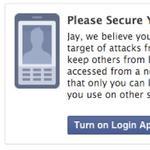 Facebook alert warns of state-sponsored hacking