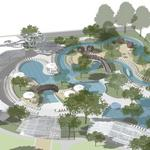 <strong>Hilton</strong> <strong>Anatole</strong> Water Park: Design firm seeks symmetry between playful and peaceful
