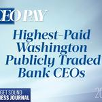 Here's what the CEOs of Washington's publicly traded banks earn