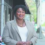 Abrams holds early fund-raising lead over Evans in Dems' race for governor